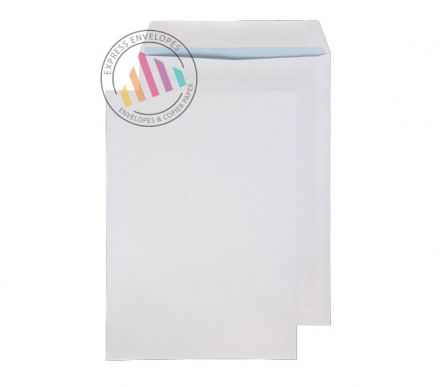 B4 - White Commercial  Envelopes - 100gsm - Non Window - Self Seal