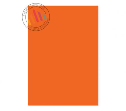 A4 - Creative Colour Pumpkin Orange Paper - 120gsm