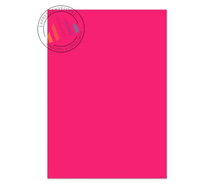 A4 - Creative Colour Shocking Pink Paper - 120gsm