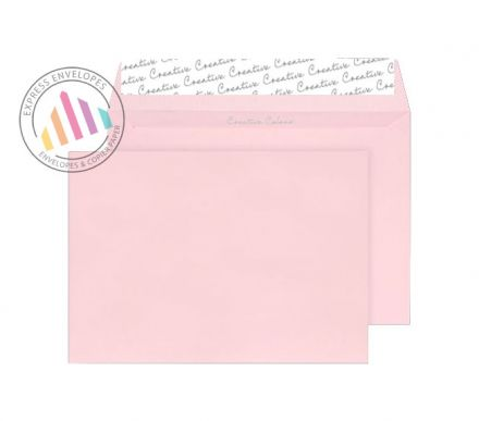 C4 - Baby Pink Envelopes - 120gsm - Non Window - Peel and Seal