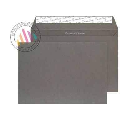 C4 - Graphite Grey Envelopes - 120gsm - Non Wiindow - Peel And Seal