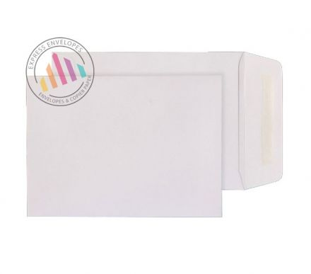 124 x 89 - White Commercial  Envelopes - 90gsm - Non Window - Gummed