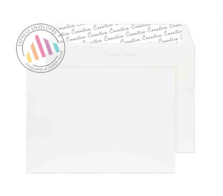 C5 - Chalk White Envelopes - 120gsm - Non Window - Peel and Seal