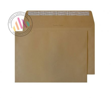 C4 - Biscuit Beige Envelopes - 120gsm - Non Window - Peel and Seal