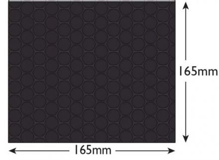 165×165mm - CD Charcoal Black Padded Bubble Envelopes - Peel and Seal - image 2