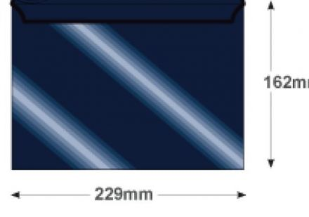 C5 - Midnight Blue Envelopes - 120gsm - Non Window - Peel and Seal - image 2