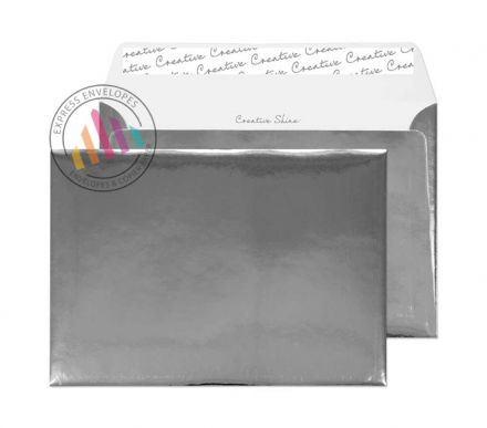 C5 - Chrome Plated Envelopes - 140gsm - Non Window - Peel & Seal
