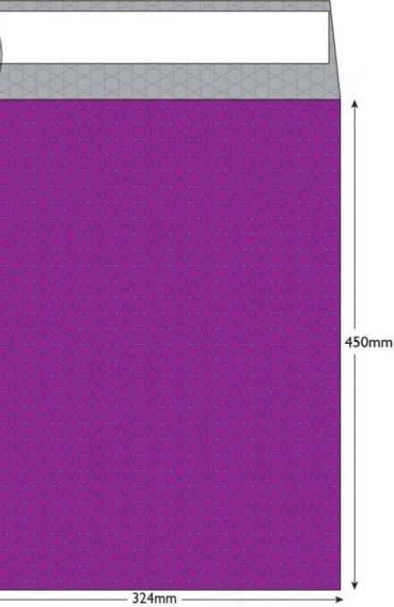 C3 - Purple Grape Padded Bubble Envelopes - Peel and Seal - image 2