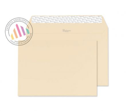 C5 - Cream Wove Envelopes - 120gsm - Non Window - Peel and Seal