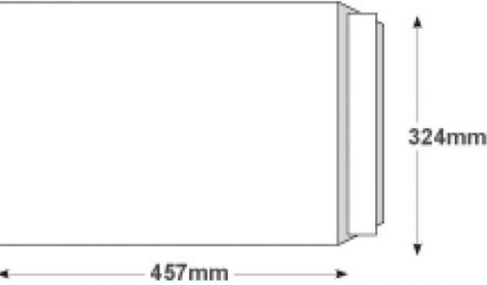 C3 - White All Board Envelopes - 350gsm - Peel and Seal - image 2