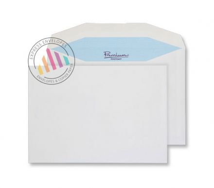 C5 - White Premium Mailing Envelopes - 90gsm - Non Window - Gummed