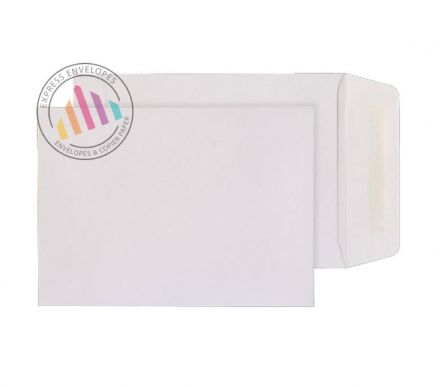C5 - White Commercial Envelopes - 90gsm - Non Window - Gummed