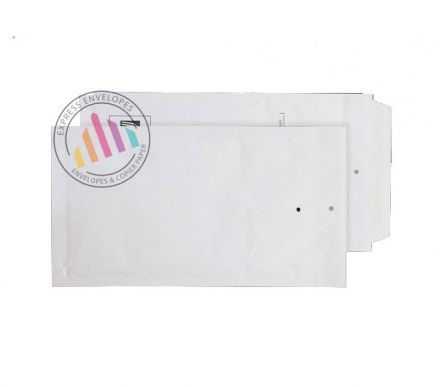 DL - White Padded Bubble Envelopes - Peel and Seal
