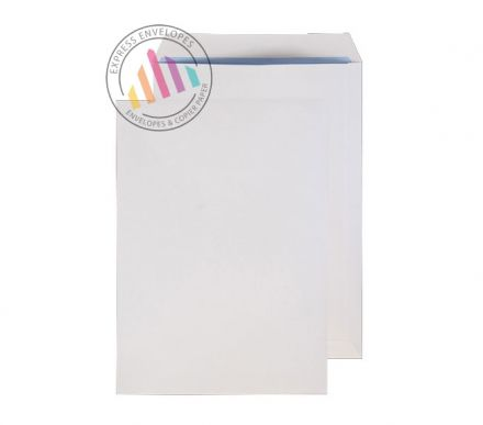 C4 - White Commercial Envelopes - 100gsm - Non Window - Gummed