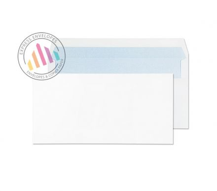 DL -  White Commercial Envelopes - 80gsm - Non Window - Self Seal