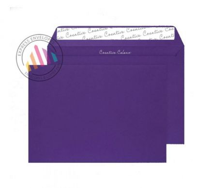 C4 - Blackcurrant Envelopes - 120gsm - Non Window - Peel and Seal