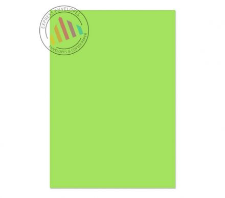 A4 - Creative Colour Lime Green Paper - 120gsm