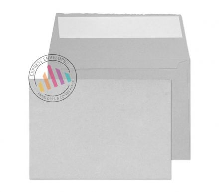 C6 - Soft Grey Envelopes - 180gsm - Non Window - Peel and Seal