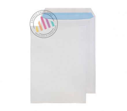 C4 - White Commercial Envelopes - 100gsm - Non Window - Self Seal