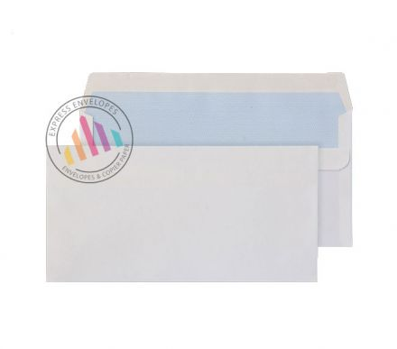 DL - White Commercial Envelope - 80gsm - Non Window - Self Seal