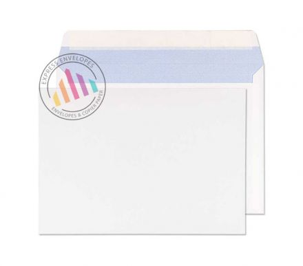 176×250mm - Commercial White Envelopes - 90gsm - Non Window - Peel and Seal