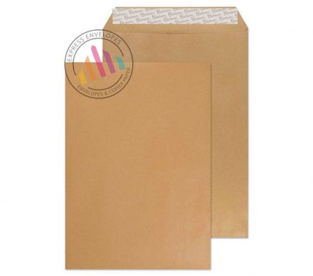 450×324mm - Cream Manilla Envelopes - 140gsm - Non Window - Peel and Seal