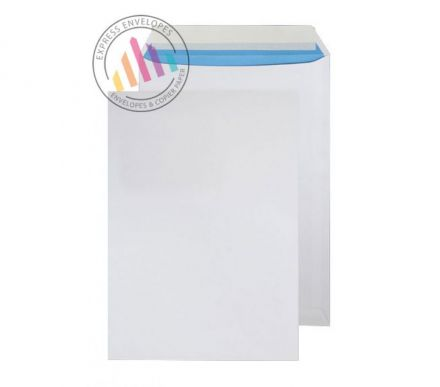 C4 - White Commercial Envelopes - 110gsm - Non Window - Peel and Seal