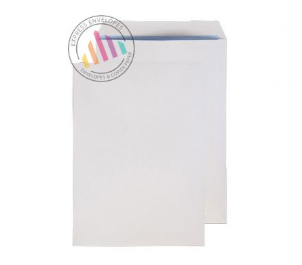 C4 - White Commercial Envelopes - 120gsm - Non Window - Gummed