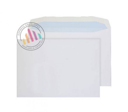 C4 - White Premium Mailing Envelopes - 100gsm - Non Window - Gummed
