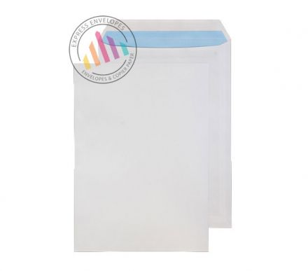 C4 - White Commercial Envelopes - 120gsm - Non Window - Self Seal