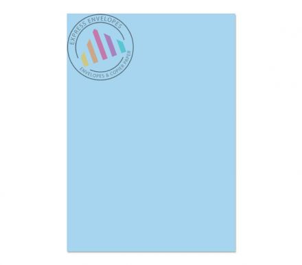 A4 - Creative Colour Cotton Blue Paper - 120gsm