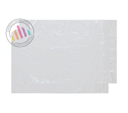 C4+ - Clear Polythene Envelopes - 38Mic - Peel and Seal