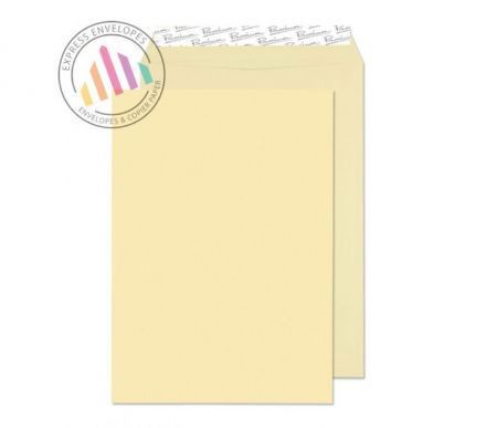 C4 - Vellum Laid Envelopes - 120gsm - Non Window - Peel and Seal