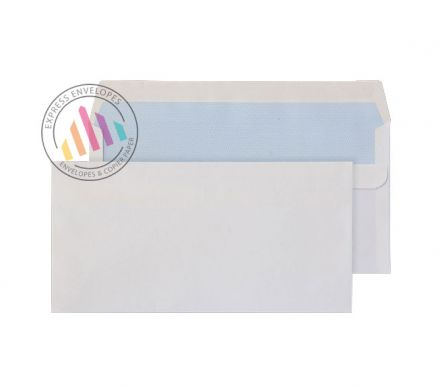 DL+ - White Commercial Envelopes - 90gsm - Non Window - Self Seal