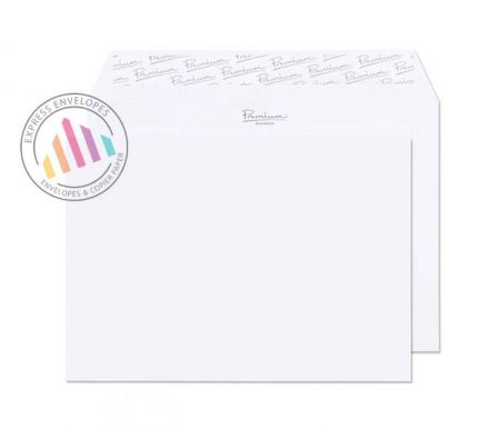 C6 - Brilliant White Wove Envelopes - 120gsm - Non Window - Peel and Seal