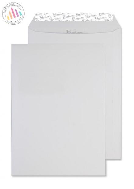 C4 - Brilliant White Wove Envelopes - 120gsm - Non Window - Peel and Seal