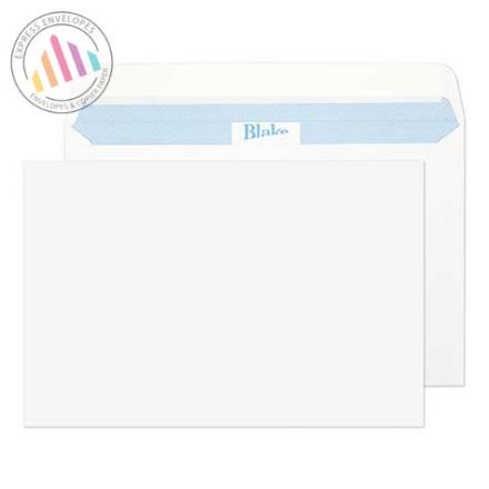 152×229mm - Ultra White Wove American Envelopes - 120gsm - Peel and Seal