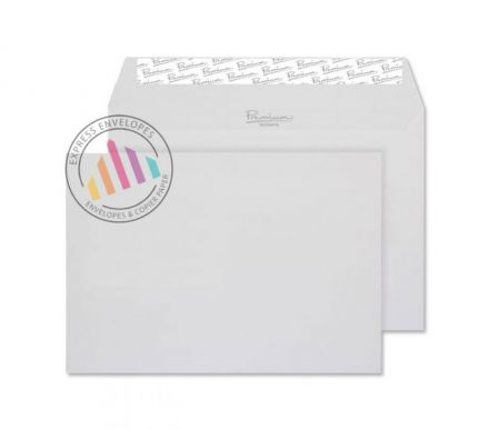 C5 - High White Laid Envelopes - 120gsm - Window - Peel and Seal