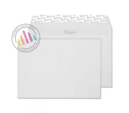 C6 - High White Laid Envelopes - 120gsm - Non Window - Peel and Seal