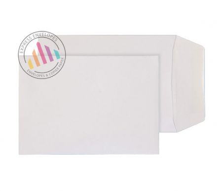C6 -  White Commercial Envelopes - 90gsm - Non Window - Gummed