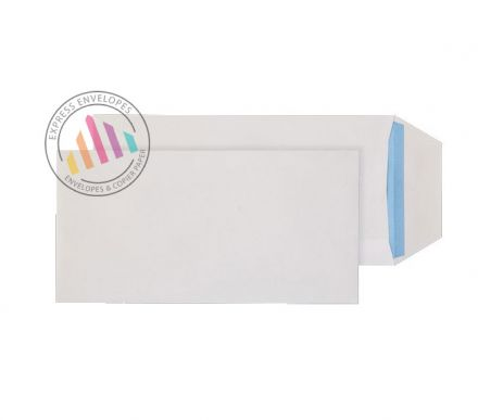 DL -  White  Commercial Envelopes - 90gsm - Non Window - Gummed