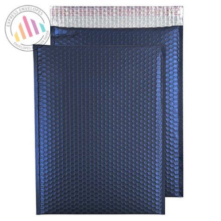 C3 - Oxford blue Padded Bubble Envelopes - Peel and Seal