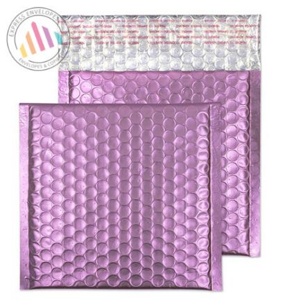165X165MM - Candy Pink Bubble Padded Envelopes - Peal and Seal
