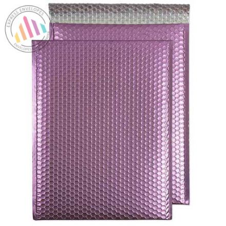 C3 - Candy Pink Bubble Padded Envelopes - Peel and Seal