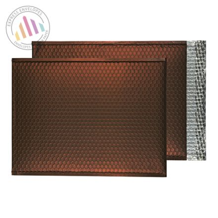 C3 - Milk Chocolate Bubble Padded Envelopes - Peel and Seal