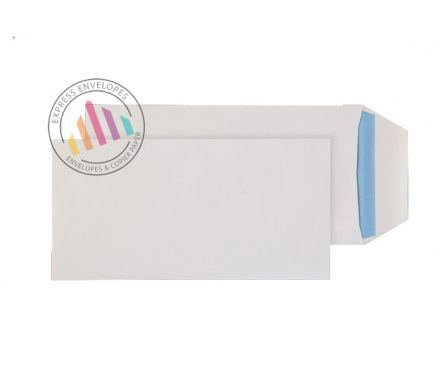 DL- White Commercial  Envelopes - 90gsm - Non Window - Self Seal