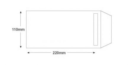 DL- White Commercial  Envelopes - 90gsm - Non Window - Self Seal - image 2