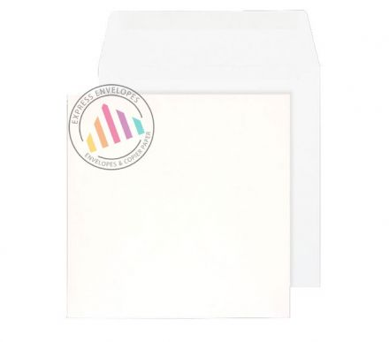120 x 120mm - White Commercial Envelopes - 100gsm - Non Window - Gummed