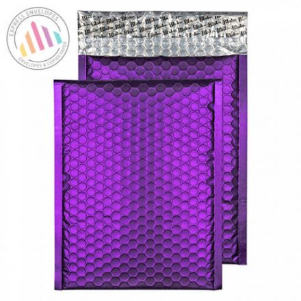 C4 - Blackcurrant Padded Bubble Envelopes - Peel and Seal