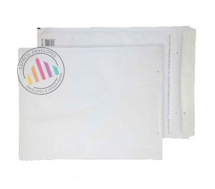 430×300mm - White Padded Bubble Envelopes - Peel and Seal